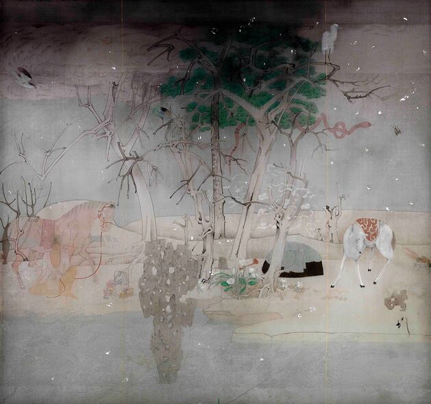 Overcome All Difficulties Song Guochao Department of Chinese Painting